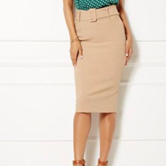 420b86d59 eva mendes for New York & Company Dresses & Skirts - Belted Pencil Skirt